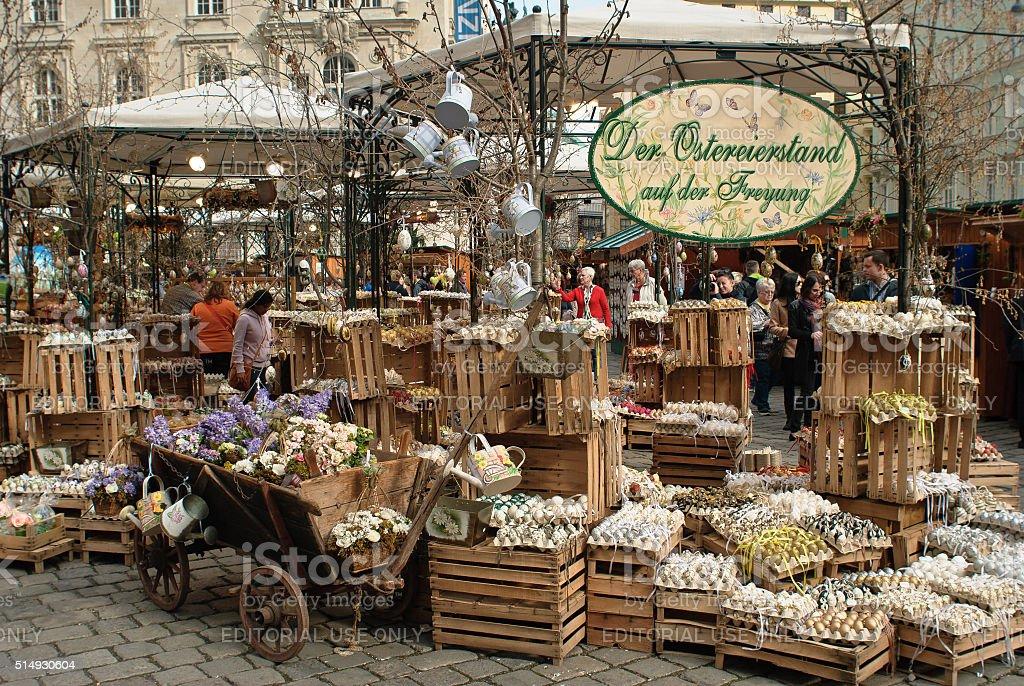 Vienna, Austria - April 21, 2014 stock photo