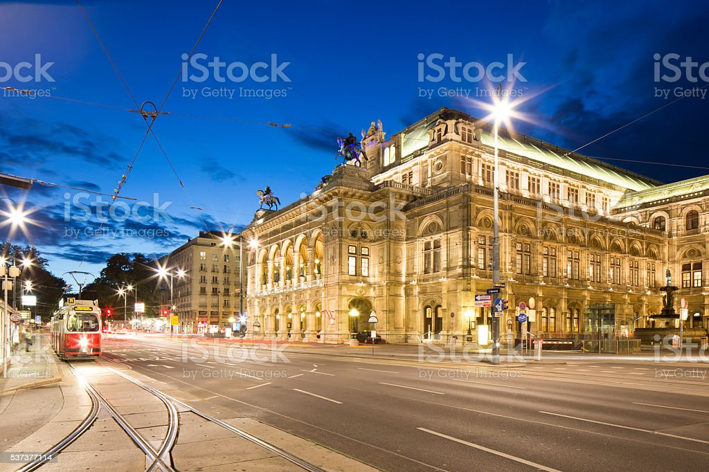Vienna, Austria – May 31, 2016: Vienna State Opera stock photo