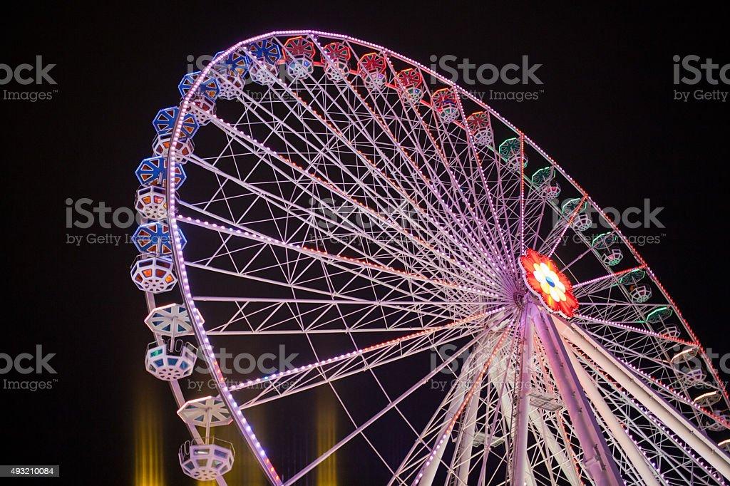 Vienna bigwheel stock photo