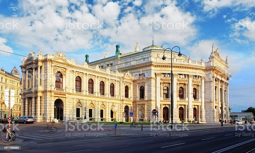 Vienna - Burgtheater is the Austrian National Theatre stock photo