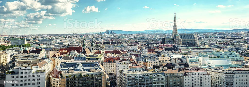 Vienna city. Austria stock photo
