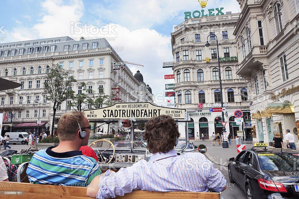 Vienna City Tour royalty-free stock photo