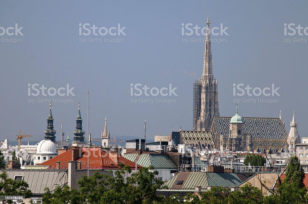 Vienna Cityscape royalty-free stock photo