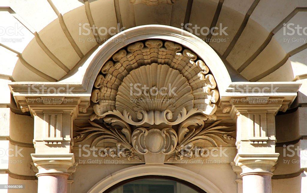 Vienna Clamshell stock photo