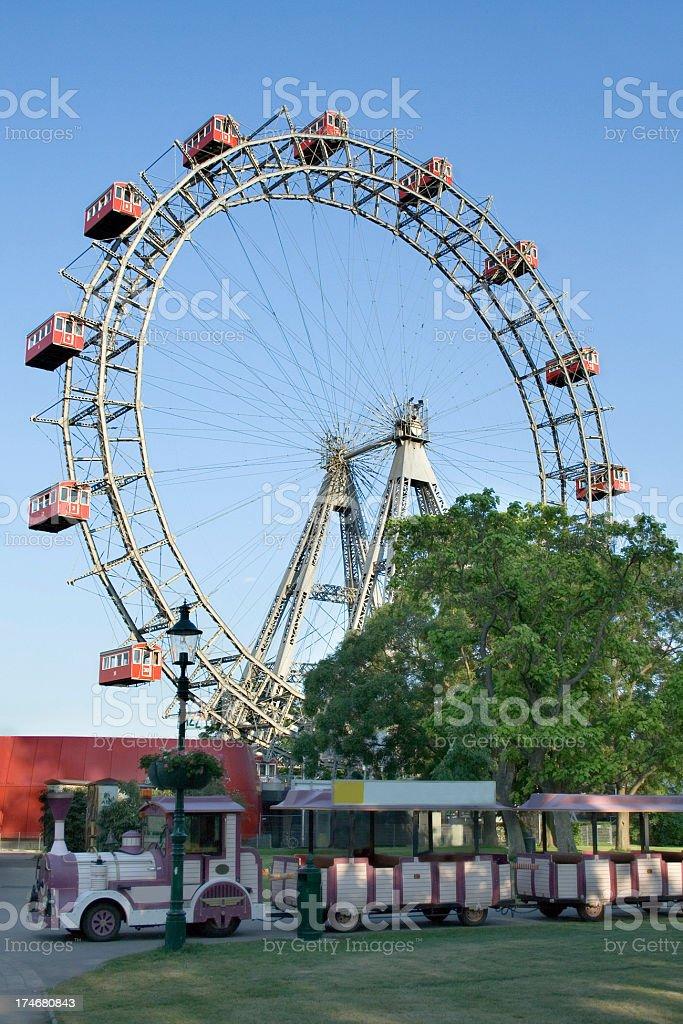 Vienna Ferris Wheel royalty-free stock photo
