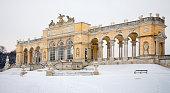 Vienna - Gloriette from gardens of Schonbrunn palace