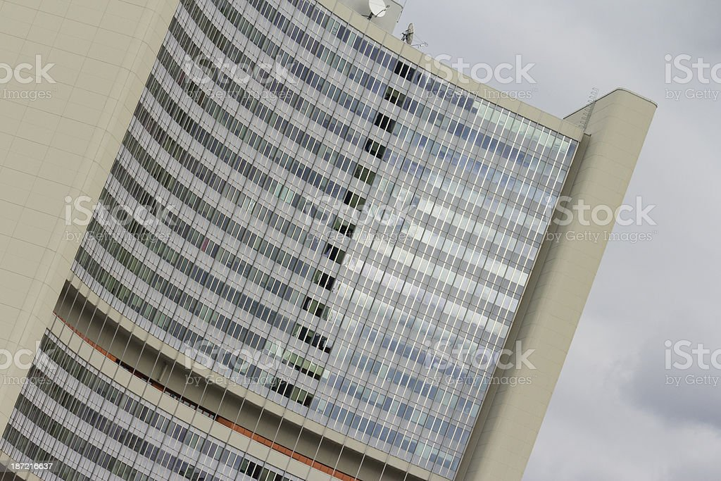Vienna International Centre royalty-free stock photo