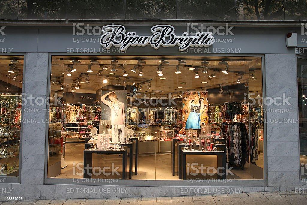Vienna jewelry store stock photo