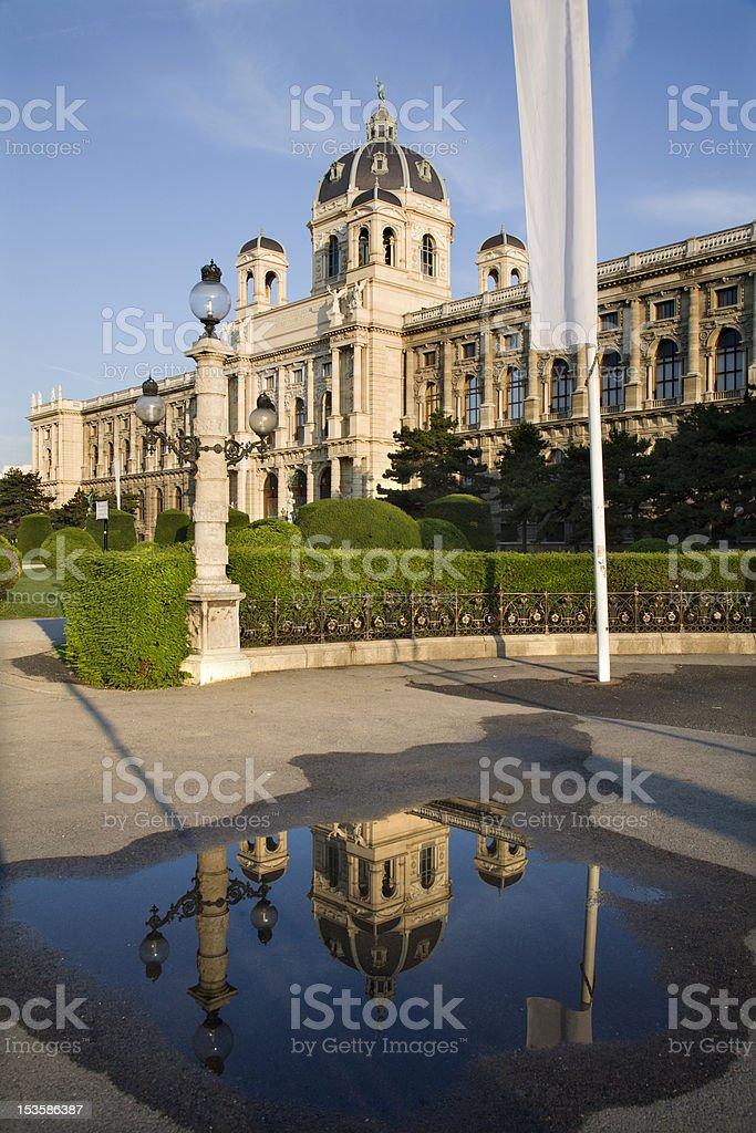 Vienna - Kunsthistorisches museum stock photo