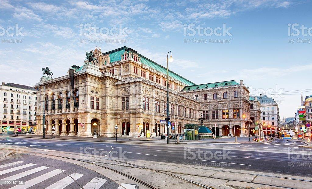 Vienna Opera house, Austria stock photo