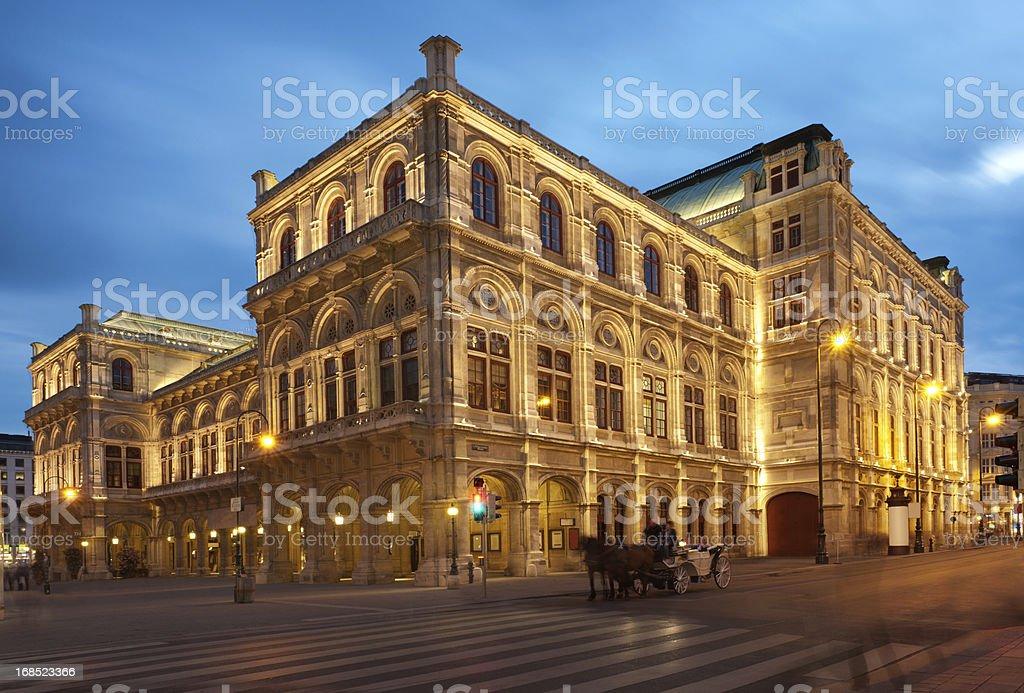 Vienna Opera House (XXXL) stock photo