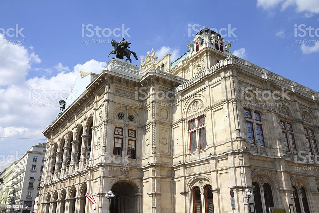 Vienna - Opera House stock photo