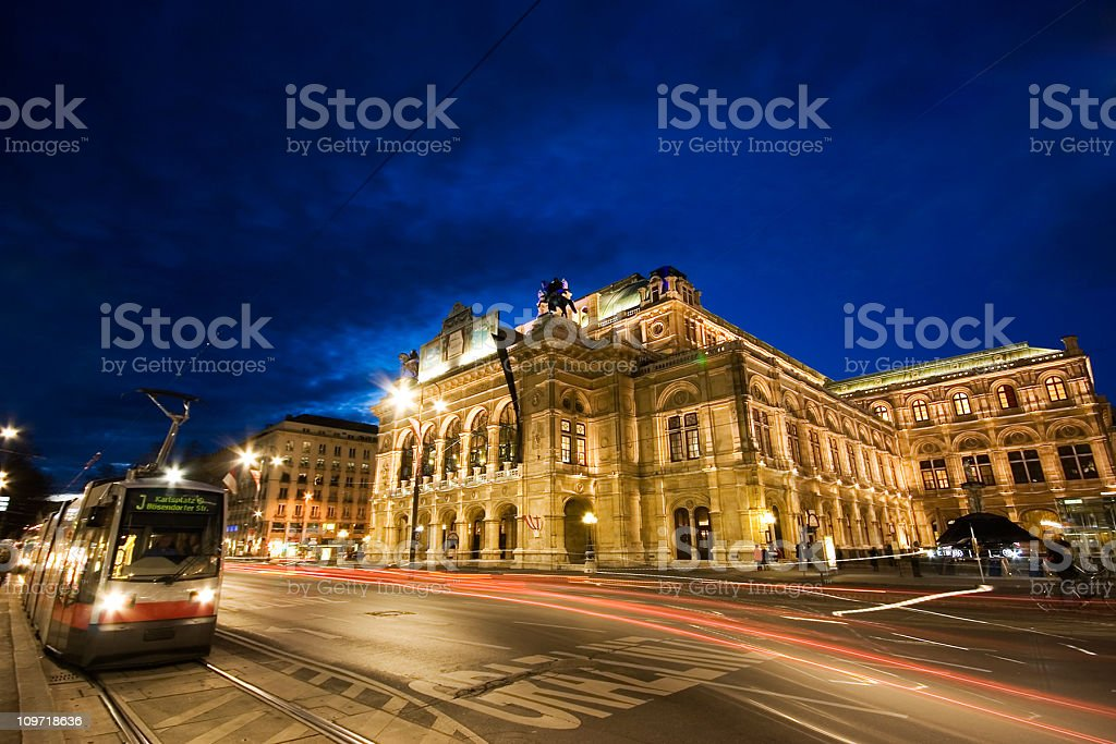 Vienna Opera stock photo