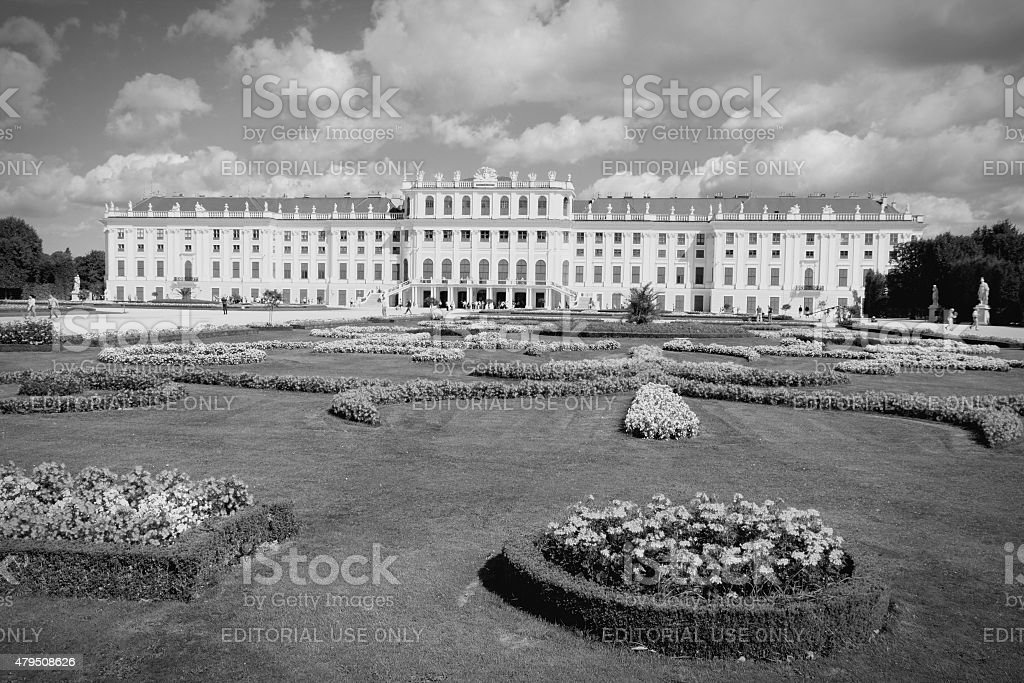 Vienna Palace stock photo