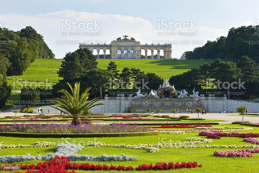 Vienna, Schloss Schönbrunn stock photo