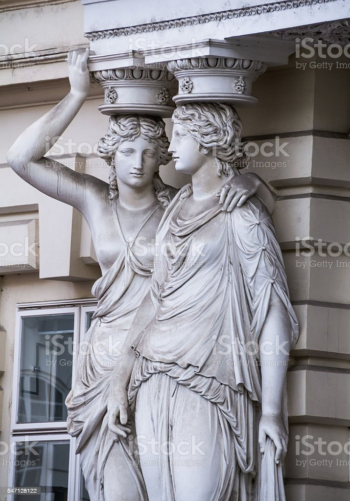 Vienna Sculpture stock photo