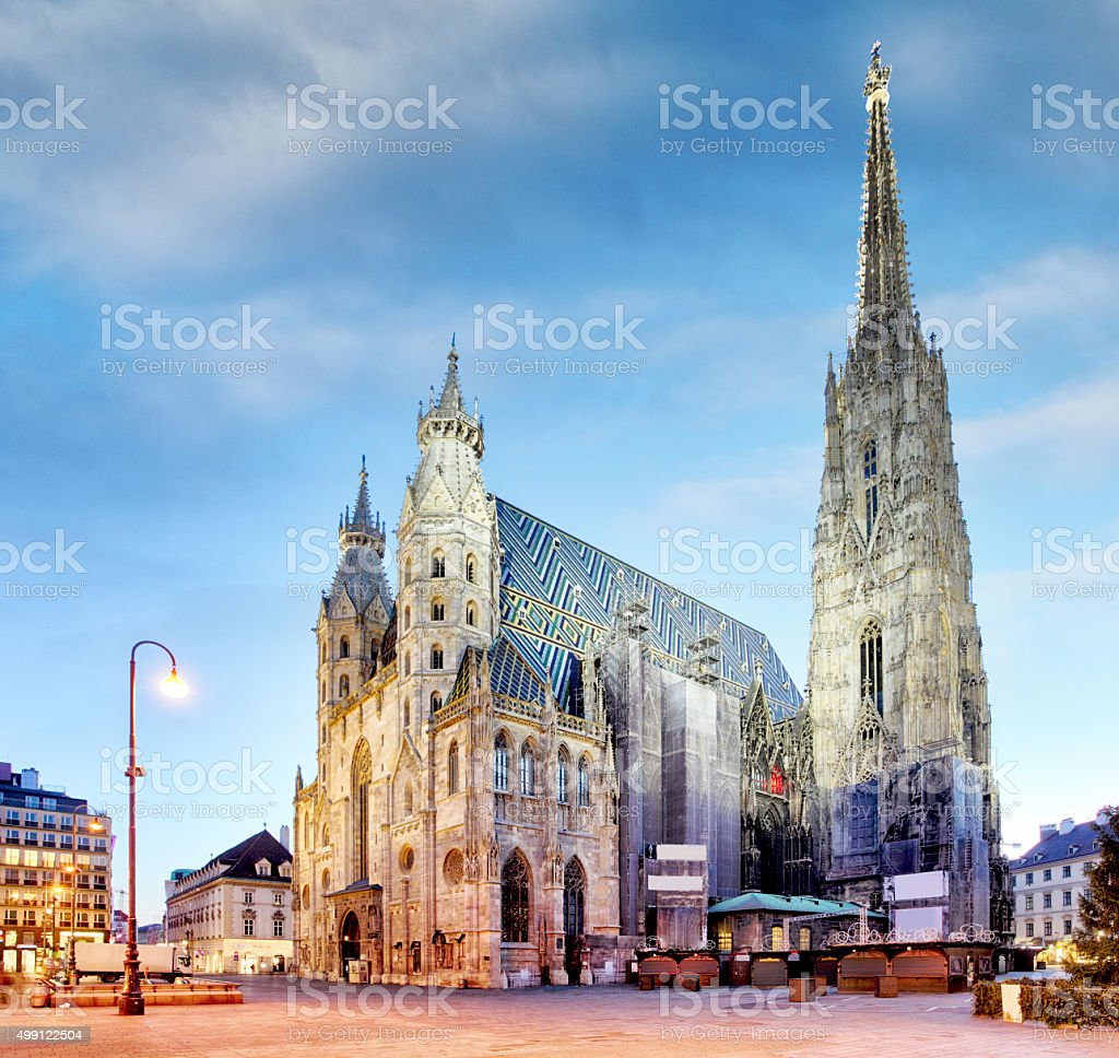 Vienna, St. Stephan Cathedral, Austria, nobody stock photo