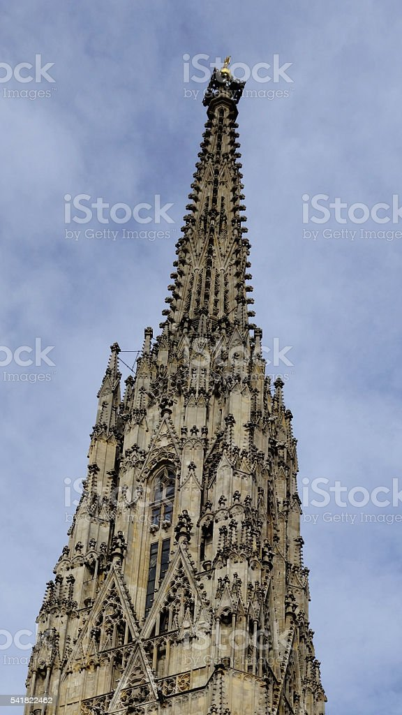 Vienna, St. Stephen's Cathedral (Wien, Stephansdom) stock photo