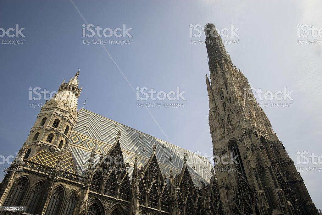 Vienna Stepahansdom stock photo