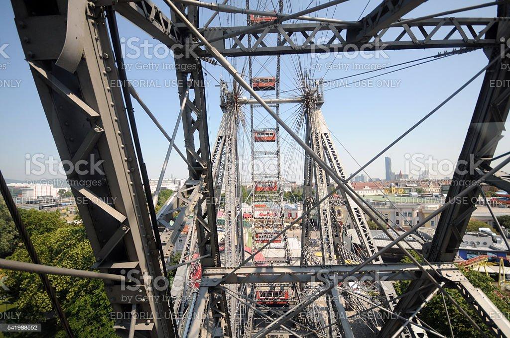 Vienna - The Giant Ferris Wheel stock photo
