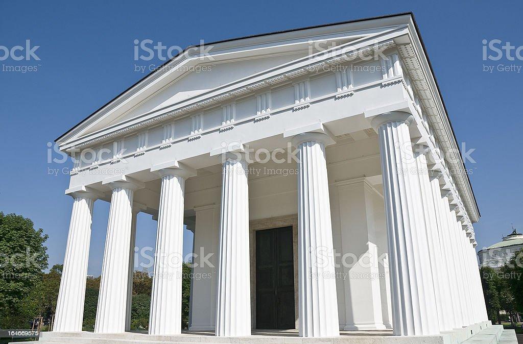 Vienna, Theseus Temple royalty-free stock photo