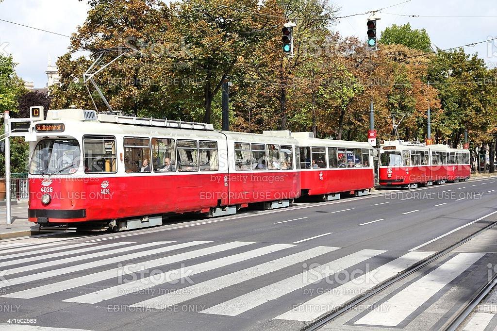 Vienna transport royalty-free stock photo