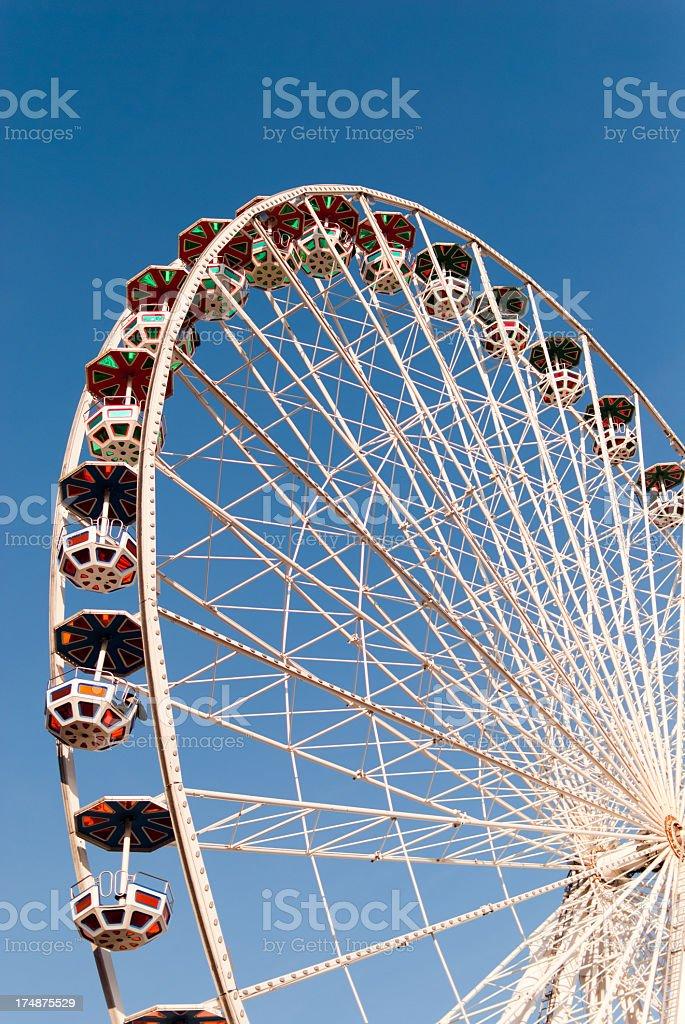 Vienna wheel royalty-free stock photo