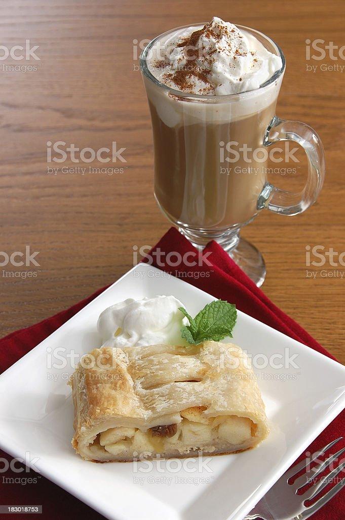 Viennese Coffee Break royalty-free stock photo