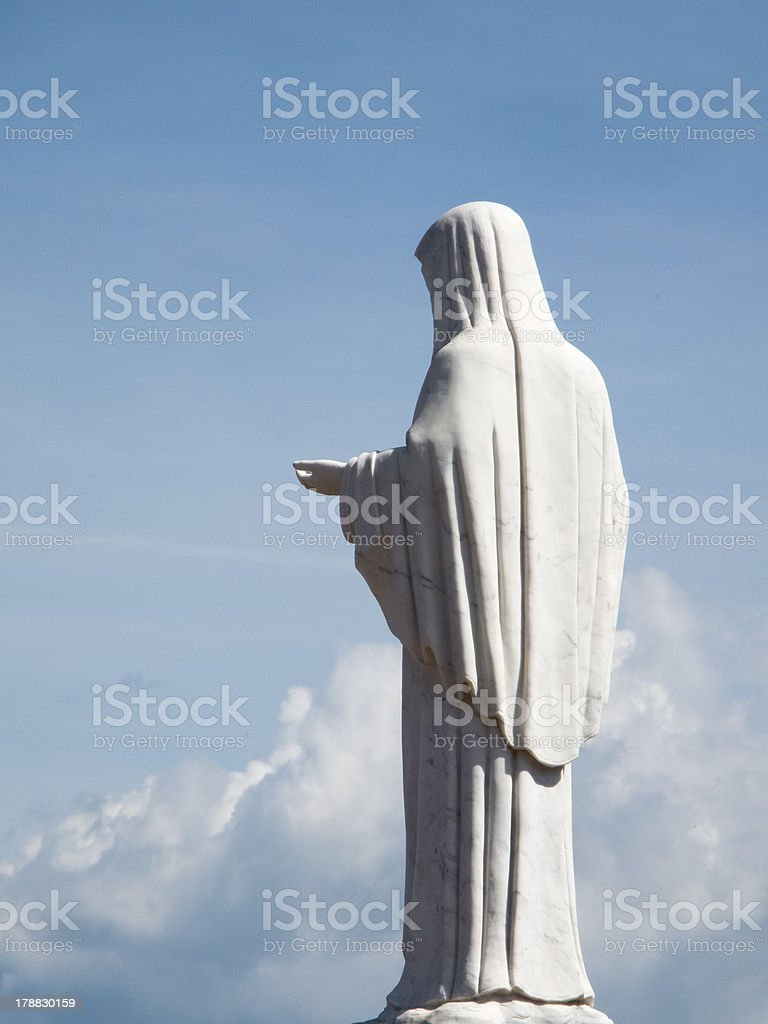 Vierge Marie stock photo