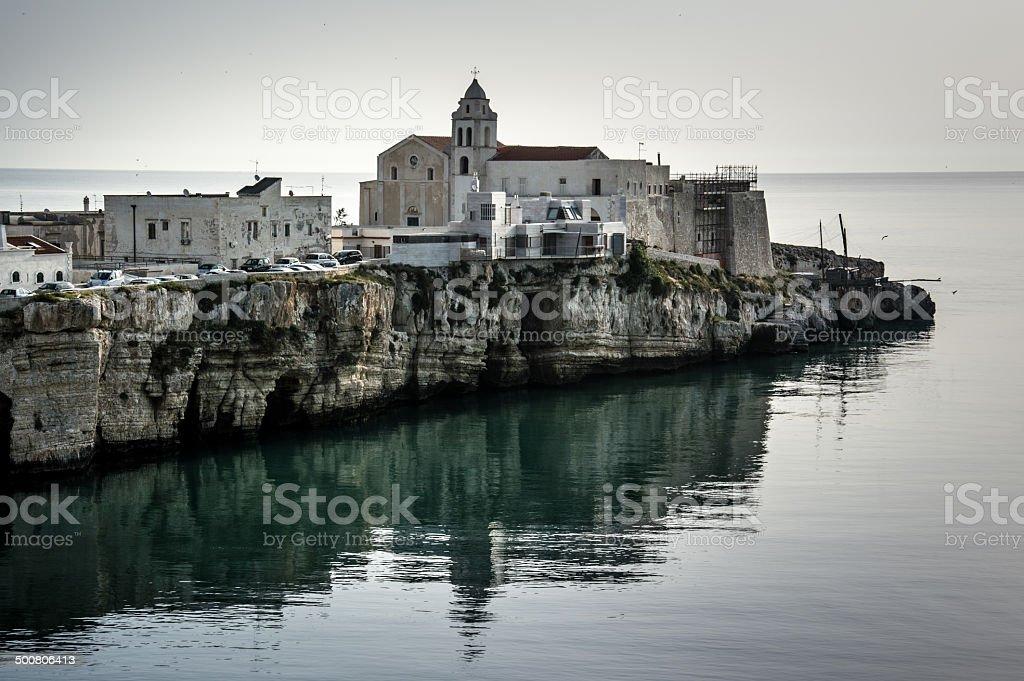 Vieste, Puglia - Italia stock photo