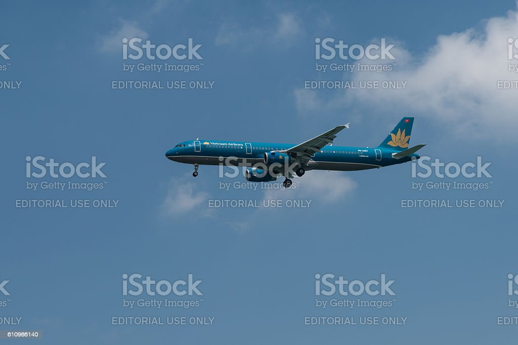 Vietnam Airlines Airbus A321 stock photo