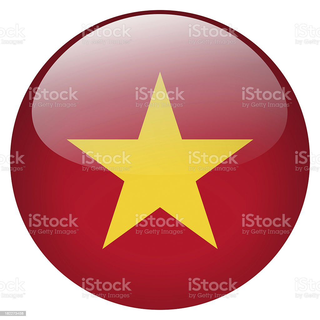 vietnam button stock photo