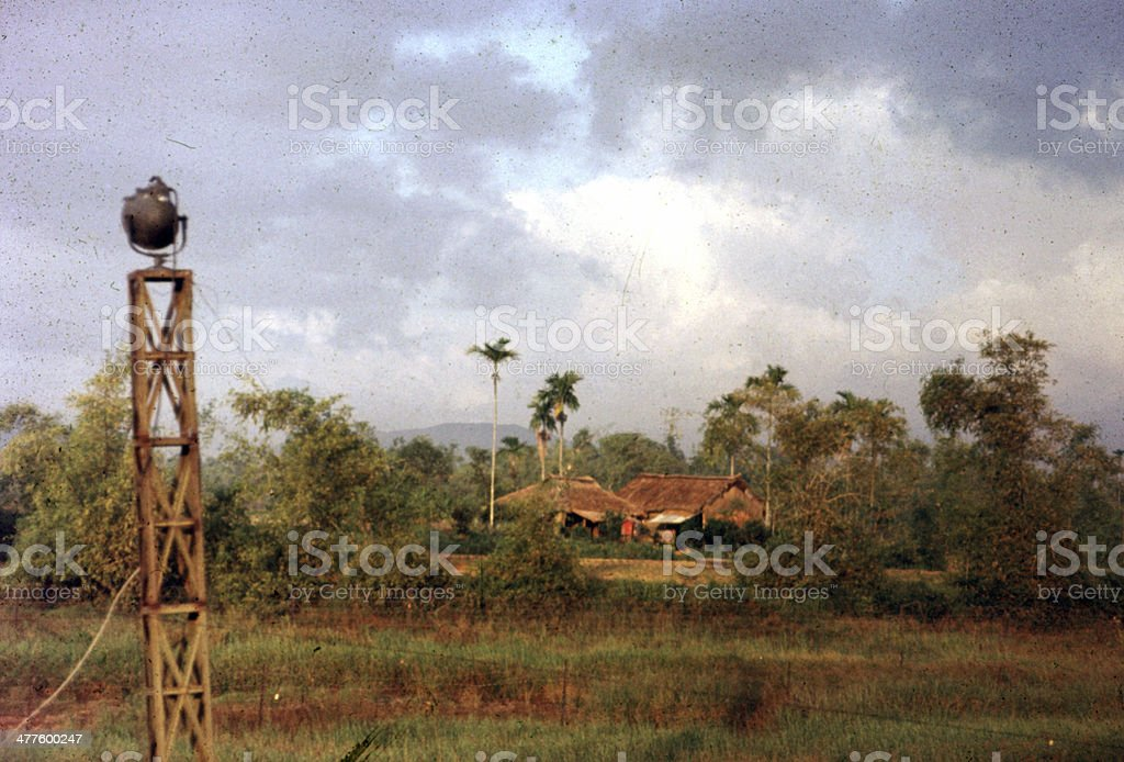 Vietnam countryside stock photo