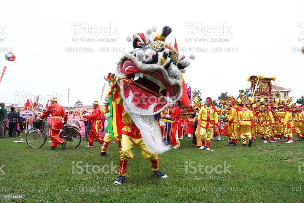 Vietnam festival stock photo
