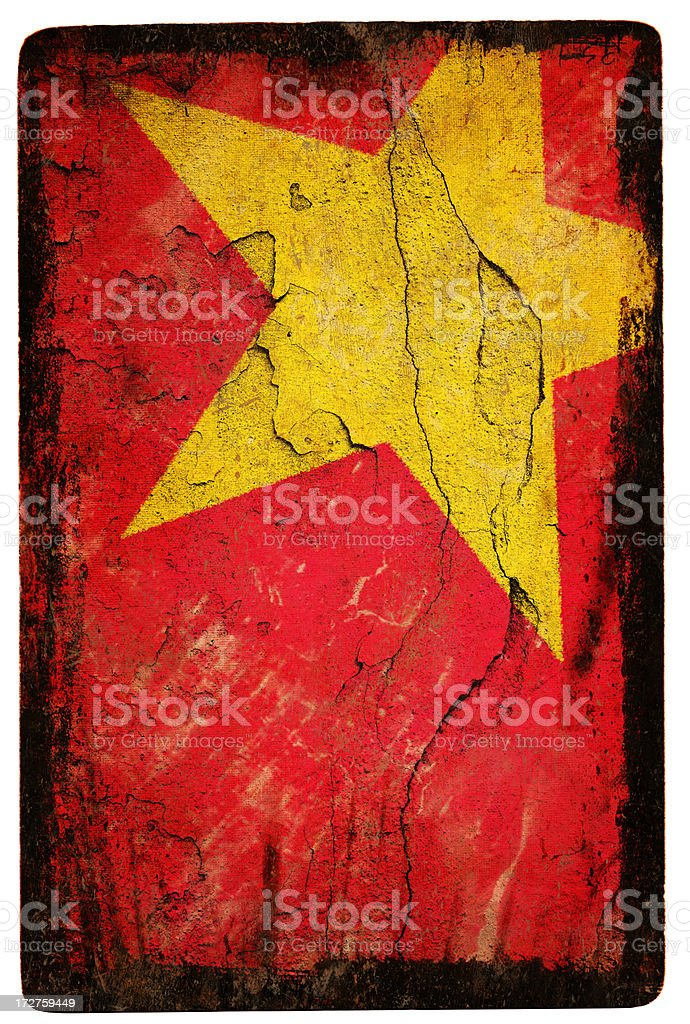 Vietnam Flag XXL stock photo