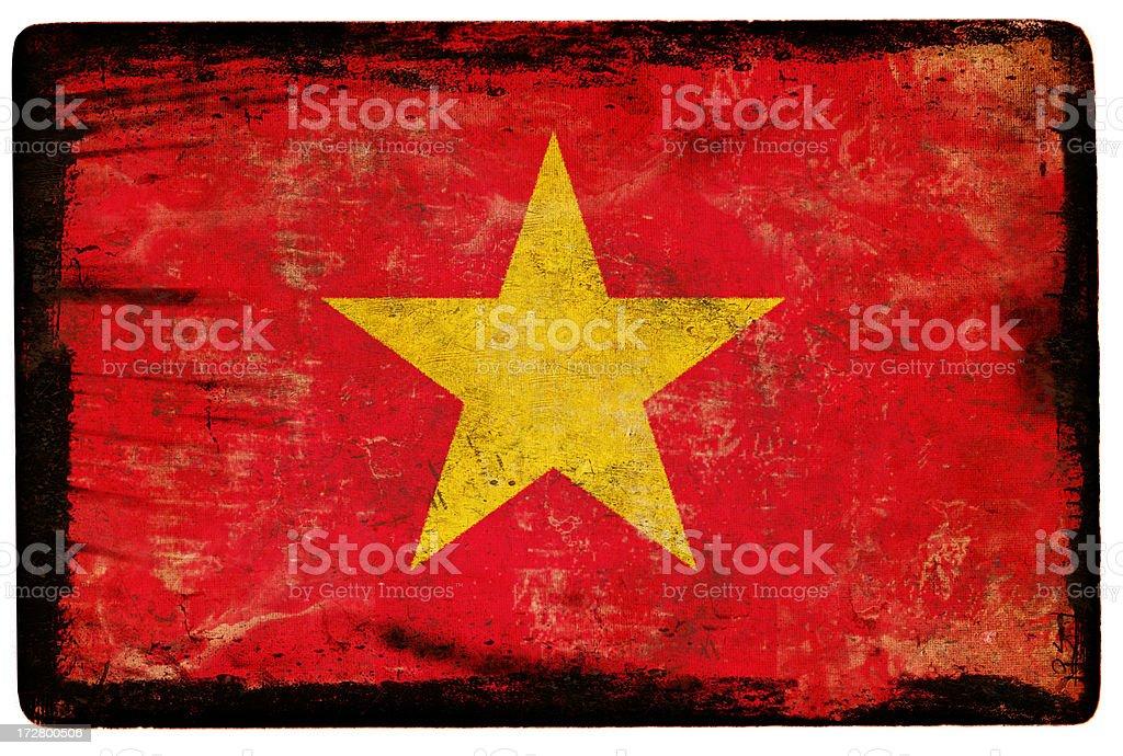Vietnam Flag XXL royalty-free stock photo