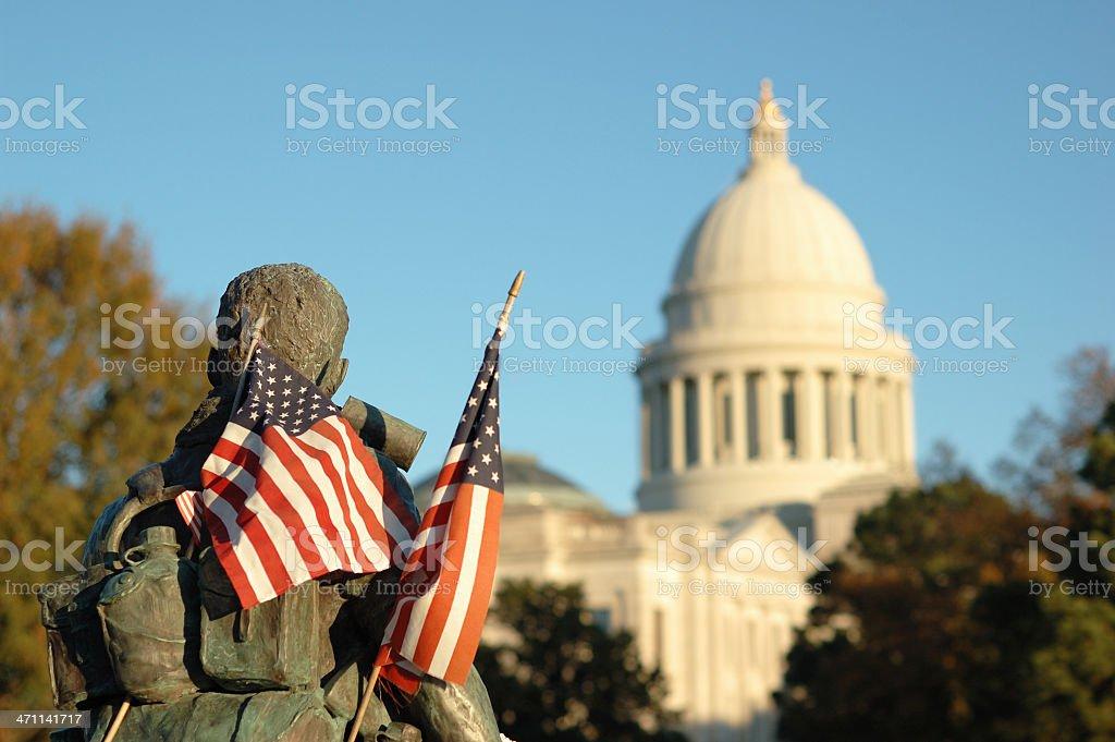 Vietnam Memorial royalty-free stock photo