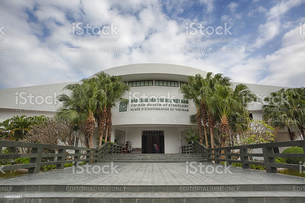 Vietnam Museum of Ethnology royalty-free stock photo