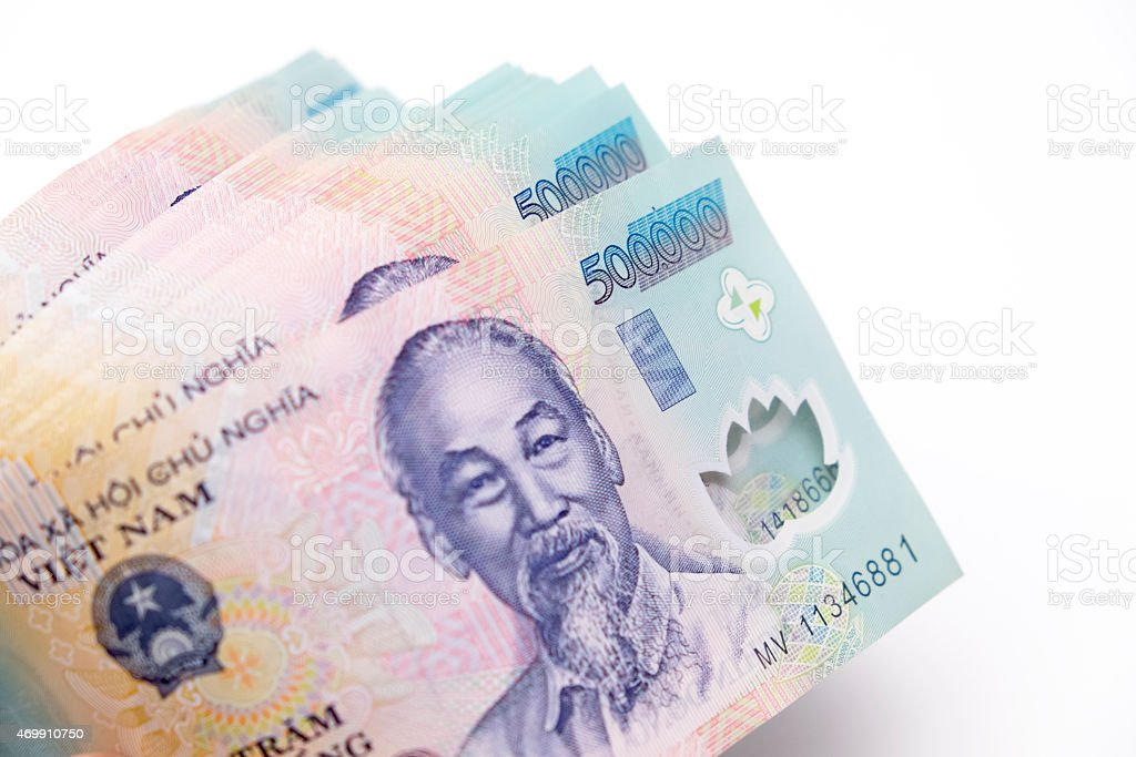 Vietnam of money(Dong) royalty-free stock photo