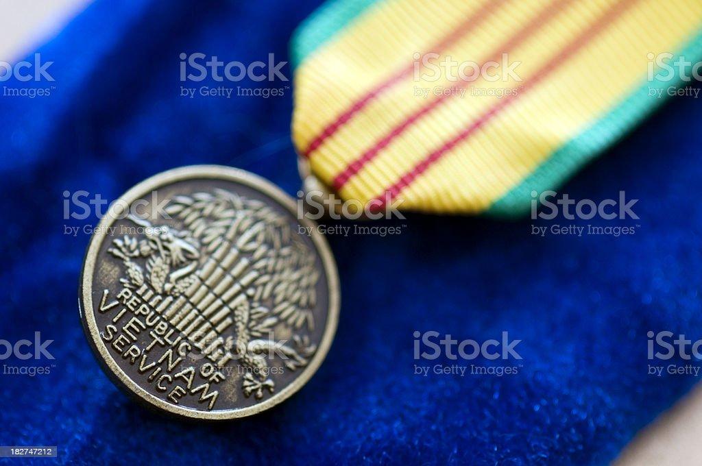 Vietnam Service Medal royalty-free stock photo