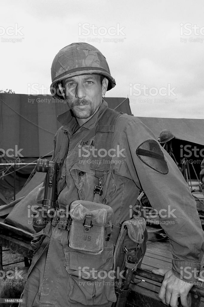 Vietnam War . stock photo