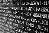 Vietnam War Veterans Memorial in Washington DC