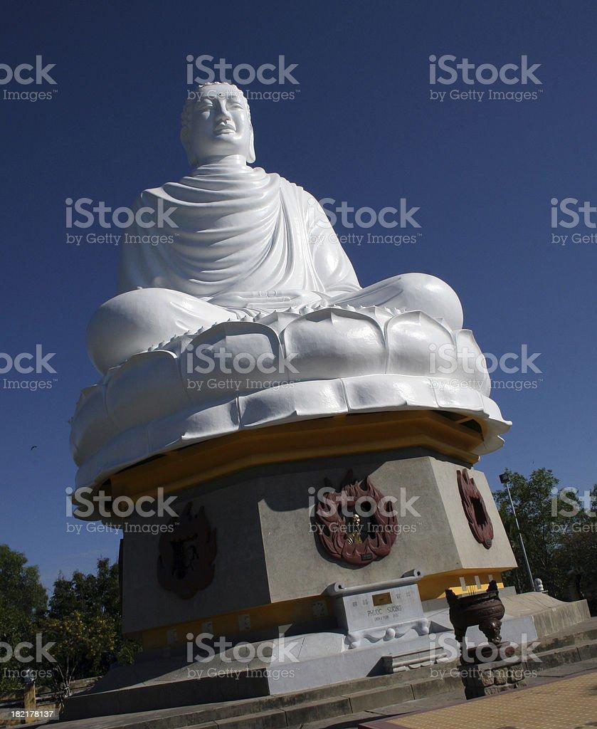Vietnamese Buddha stock photo