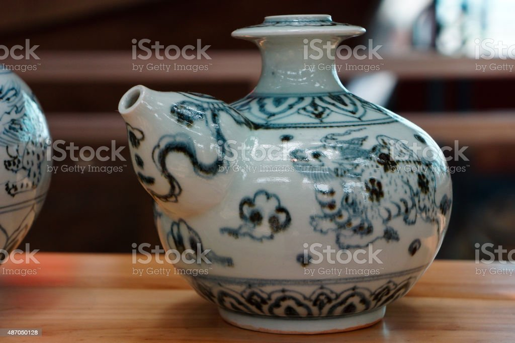 Vietnamese Ceramic stock photo