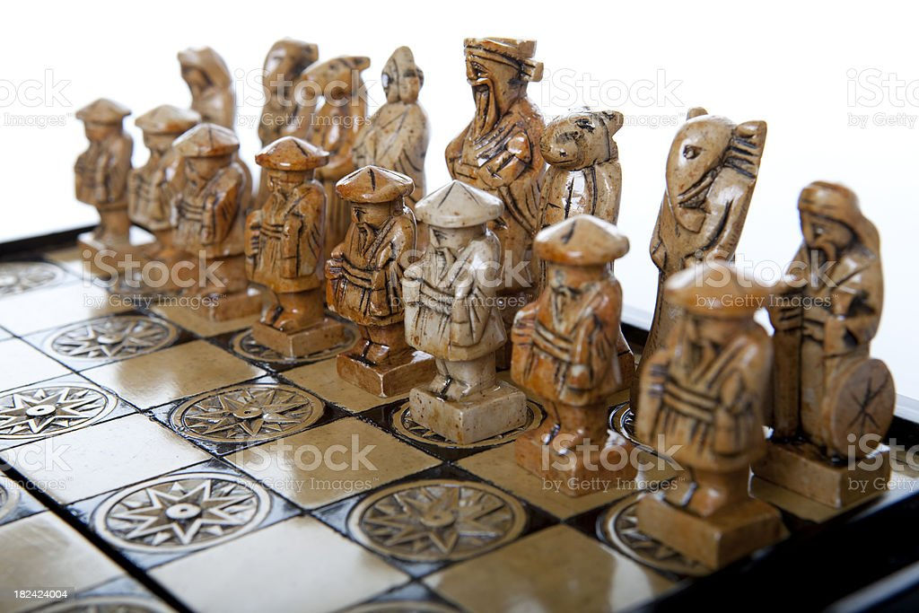 Vietnamese Chess royalty-free stock photo