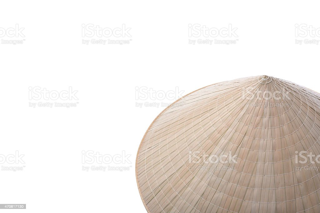 Vietnamese  Conical Hat (Non La) royalty-free stock photo