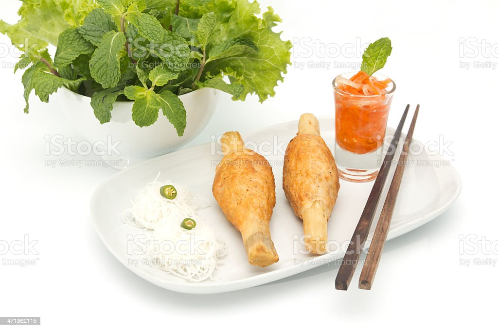 Vietnamese food royalty-free stock photo