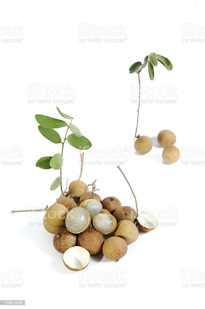 Vietnamese longan fruit royalty-free stock photo