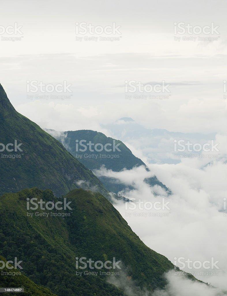 Vietnamese mountains landscape royalty-free stock photo
