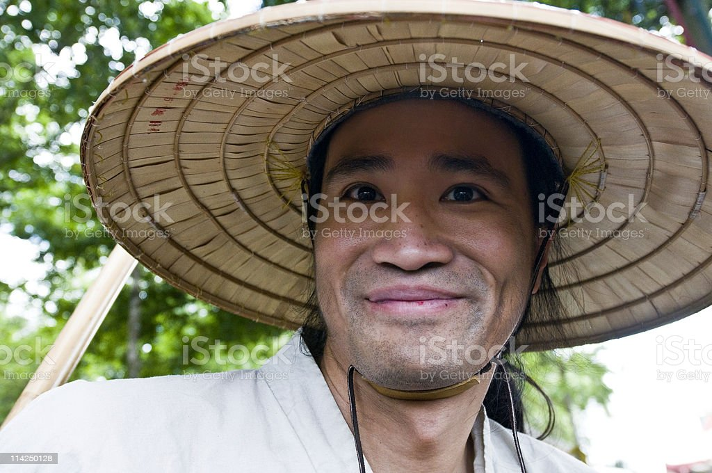 Vietnamese  Peasant royalty-free stock photo